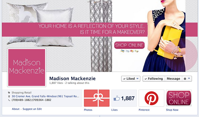 Madison Facebook Home